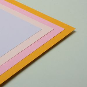 A2 Assorted Pastel Coloured Paper 80GSM - 100 Sheets